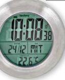 Badezimmer-Funkuhr WT 3000 von Techno Line