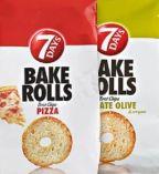 Bake Rolls Brotchips von 7 Days