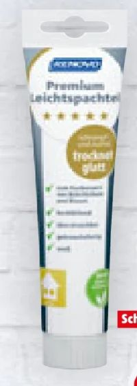 Premium Leichtspachtel von Renovo