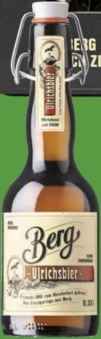 Ulrichsbier von Berg Brauerei