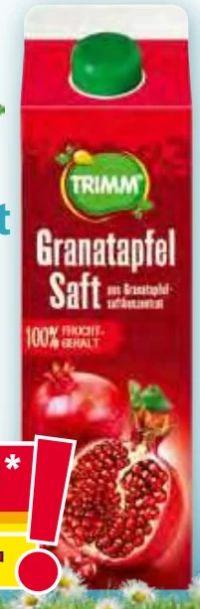 Granatapfelsaft von Trimm