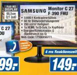 Monitor S 27 E 390 H von Samsung