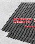 Bitumenwellplatte