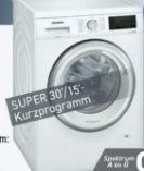 Waschvollautomat WU14UT90 von Siemens