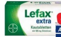 Lefax extra Kautabletten von Bayer Healthcare