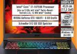 Gaming-Notebook Nitro (AN517-52-71MN) von Acer