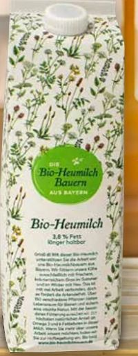 ESL Milch von Bio-Heumilch Bauern