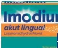 Imodium Akut Lingual von Johnson & Johnson