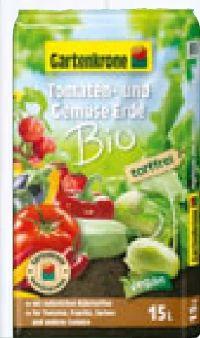 Bio Tomaten-Gemüseerde von Gartenkrone
