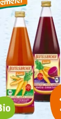 Bio Gemüsesäfte von Beutelsbacher