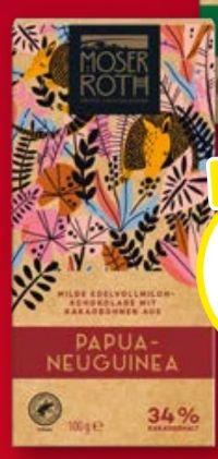 Single Origin Schokolade von Moser Roth
