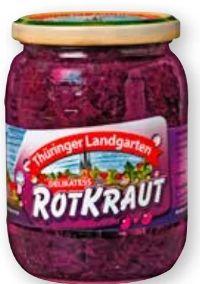 Rotkraut von Thüringer Landgarten