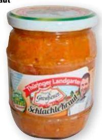 Greußener Schlachtekraut von Thüringer Landgarten