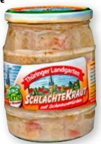 Sauerkonserve Schlachtekraut von Thüringer Landgarten
