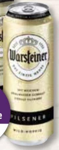 Premium Pilsener von Warsteiner
