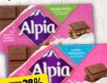 Tafelschokolade von Alpia