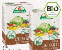 Bio Gartendünger von ASB Greenworld