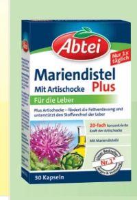 Abtei Mariendistel Plus von Omega Pharma