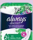 Discreet Einlagen von Always