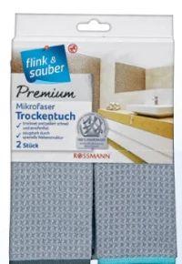 Mikrofaser Premium Trockentuch von Flink & Sauber