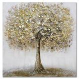 Ölgemälde Baum von Monée