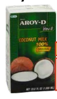 Kokosmilch von Aroy-D
