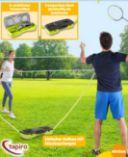 Outdoor-Badminton-Set von Tapiro