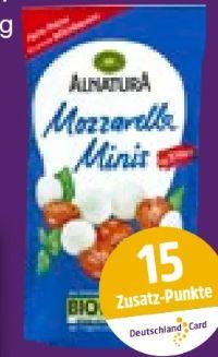Bio-Mozzarella Minis von Alnatura