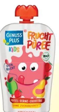 Kids Bio Quetschbeutel von Genuss Plus