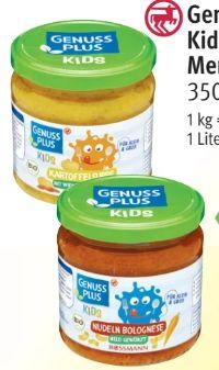 Kids Bio Menü von Genuss Plus