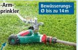 Profi-3-Arm-Sprinkler von Powertec Garden