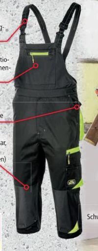 Herren Sommer-Arbeitslatzhose von Toptex Pro