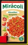 Spaghettifertiggerichte von Mirácoli
