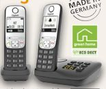 Schnurlos-DECT-Telefon A690A Duo von Gigaset