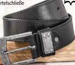 Jeans-Leder Gürtel von Luigi Lamberto