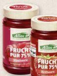 Bio Fruchtaufstriche von Allos