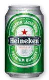 Lager Bier von Heineken