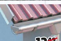 Aluminium-Dachrinne