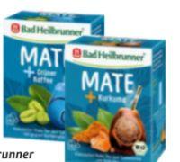 Bio Mate + Kurkuma Tee von Bad Heilbrunner