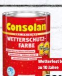 Wetterschutzfarbe von Consolan