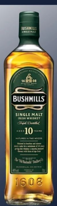 Single Malt Irish Whiskey von Bushmills