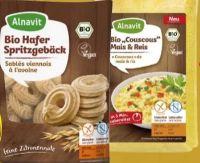 Bio-Knusperbrot Mais & Reis von Alnavit