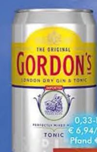 London Dry Gin & Tonic von Gordon's