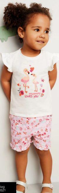 Baby-Set Shirt & Shorts von DopoDopo Baby