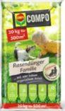 Rasendünger Familie von Compo