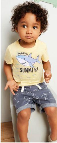 Baby-Set T-Shirt & Shorts von DopoDopo Baby
