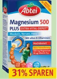 Abtei Magnesium 500 Plus von Omega Pharma