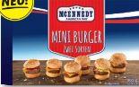 Mini-Burger von MC Ennedy