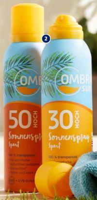 Sonnenspray Sport von Ombra Sun