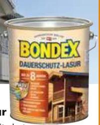 Dauerschutz-Lasur von Bondex